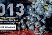Le calendrier de la CCI Beaujolais
