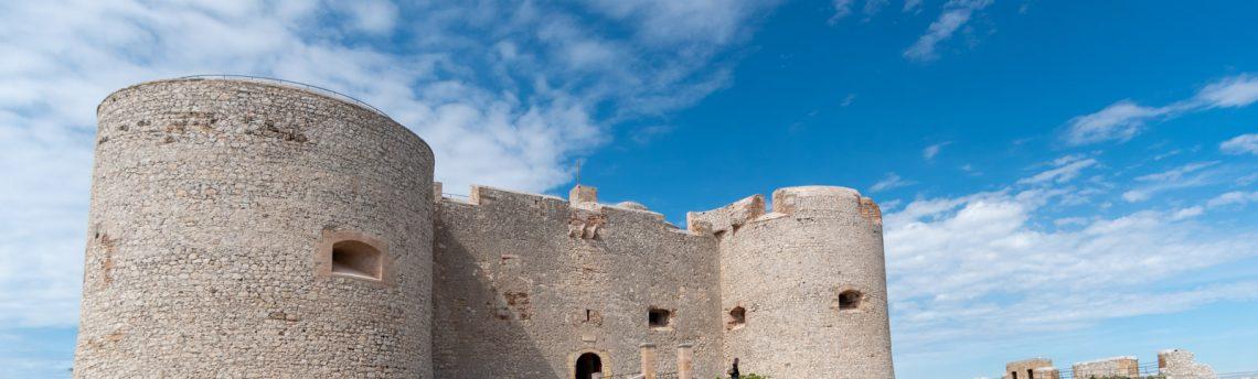 Un chantier au château d'If